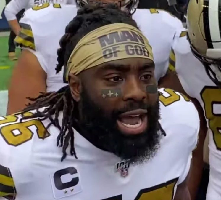 NFL Player Demario Davis Wins Appeal for 'Man of God' Headband Fine, Donates Amount to Charity Instead