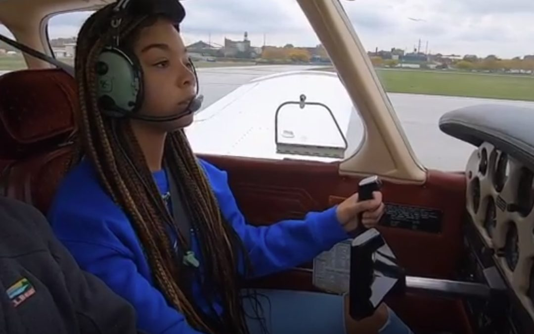 STEM Student,16, Doesn't Have a Driver's License and Already a Pilot