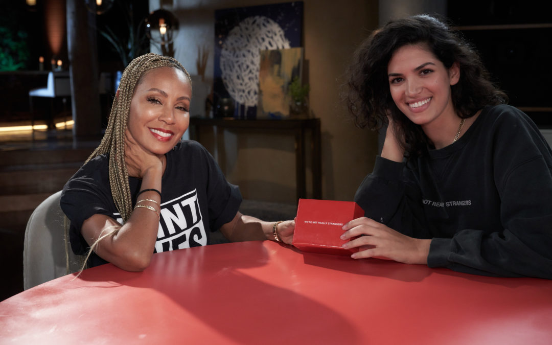 Jada Pinkett Smith's New Card Game brings the 'Red Table Talk' To Your Home during the Holidays