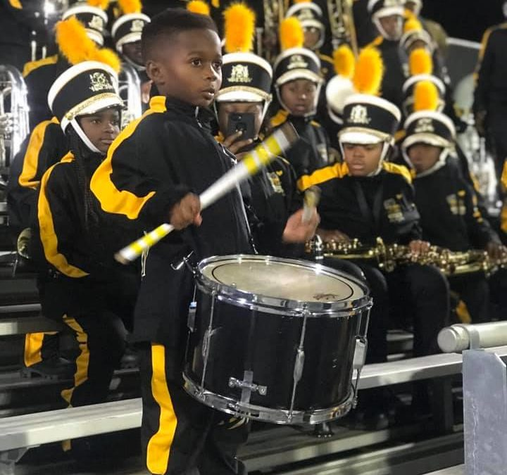 5-Year-Old Drummer Receives Full Band Scholarship To HBCU