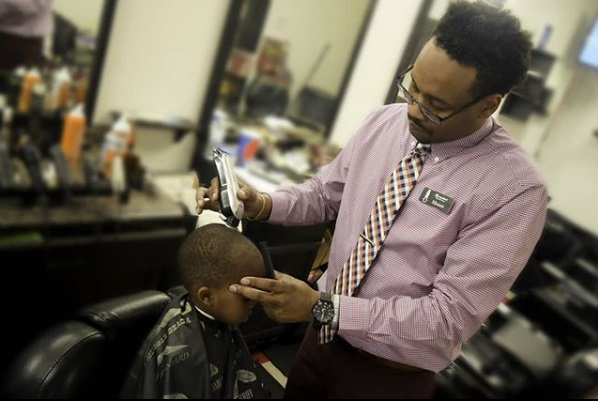 Black Barber Opens Walmart's First Black-Owned and Operated Barbershop