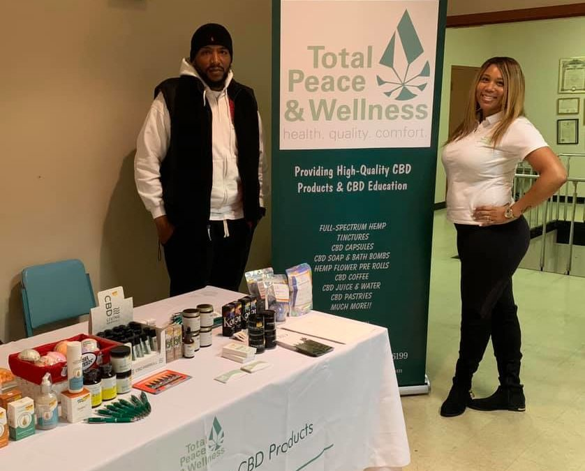 Black-Owned 'Total Peace & Wellness' Helps Spread CBD Education and Awareness