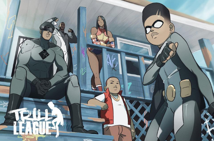 50 Cent Partners with Black Animator to Produce a Superhero Series with Lionsgate and Quibi