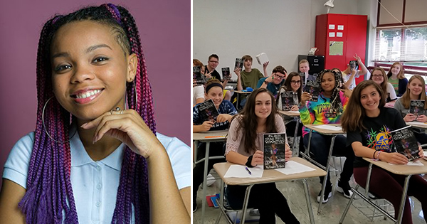 17-Year Old Teen is the First to Have Books Become a Requirement at School