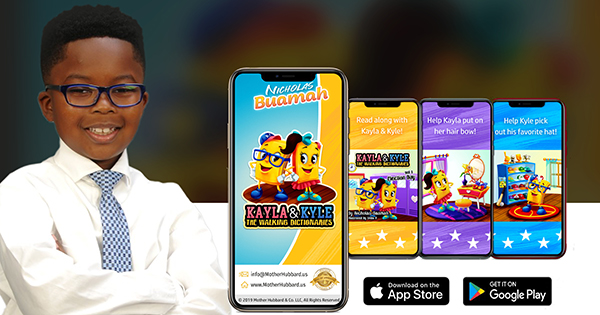 8-Year-Old Author Expands Children's Vocabulary With New App