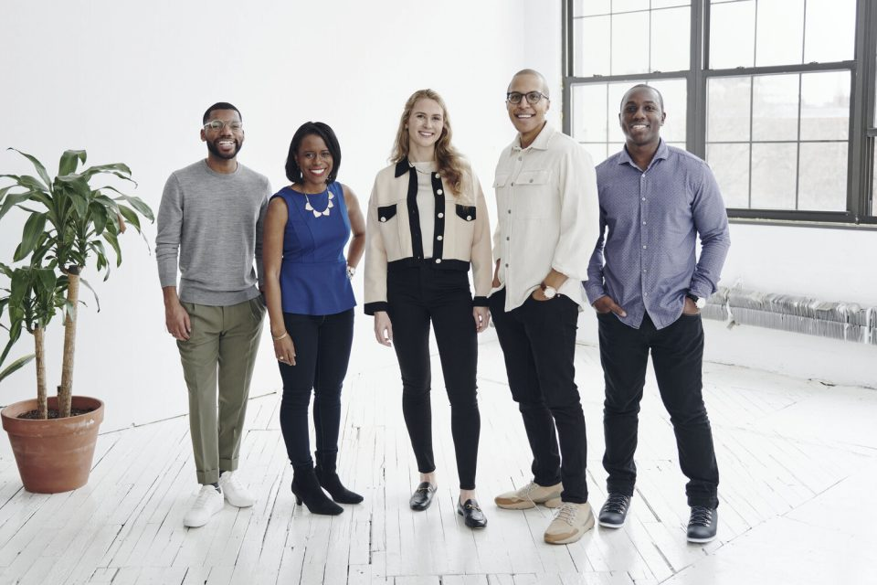 black startup founders