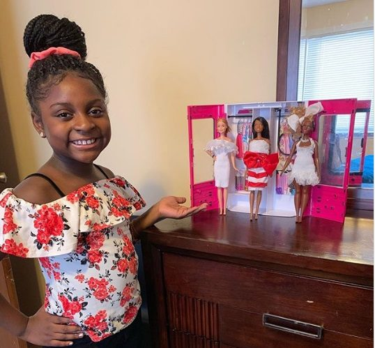 Mattel Reaches Out to 9-Year-Old Fashion Designer