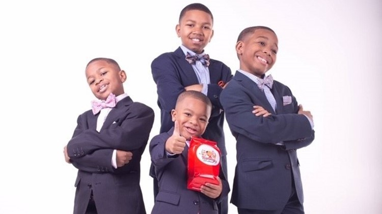 Four Young Entrepreneurs, Brothers All Under the Age of 12, Start a Cookie Company