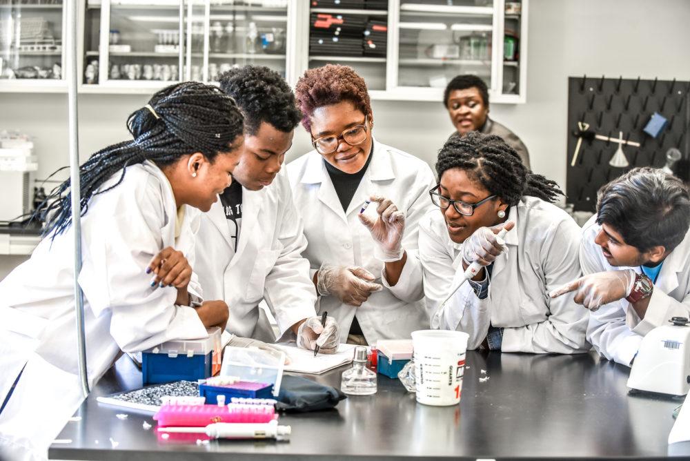 Howard University STEM students