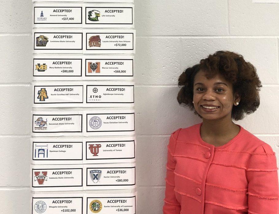 Kayla Willis College Acceptance