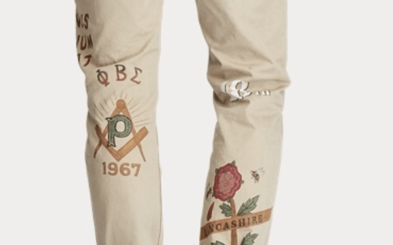 Phi Beta Sigma Fraternity, Inc. Demands Ralph Lauren Remove Greek Letters From Its Pants