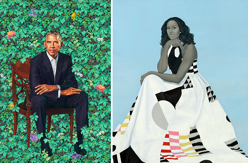 The Barack And Michelle Obama Portraits Are Going On Tour