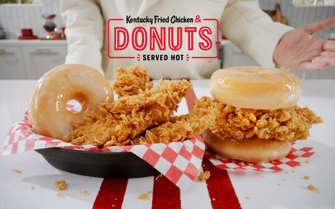 KFC to Debut the Kentucky Fried Chicken & Donuts Sandwich