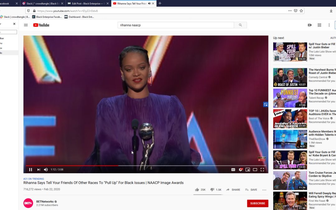 """Rihanna Tells White Allies """"To Pull Up"""" for Racial Injustice Issues (Video)"""