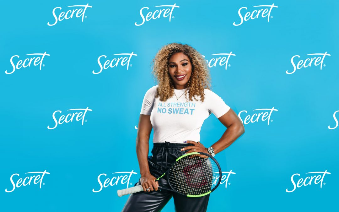 Serena Williams Teams Up with Secret Deodorant to Champion for Gender Equality