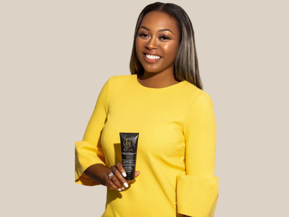 Shontay Lundy of Black Girl Sunscreen