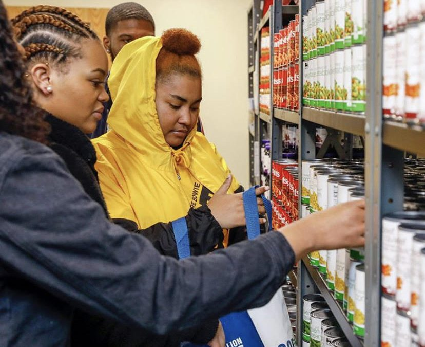HBCU Bowie State University opens food pantry that feeds students for free