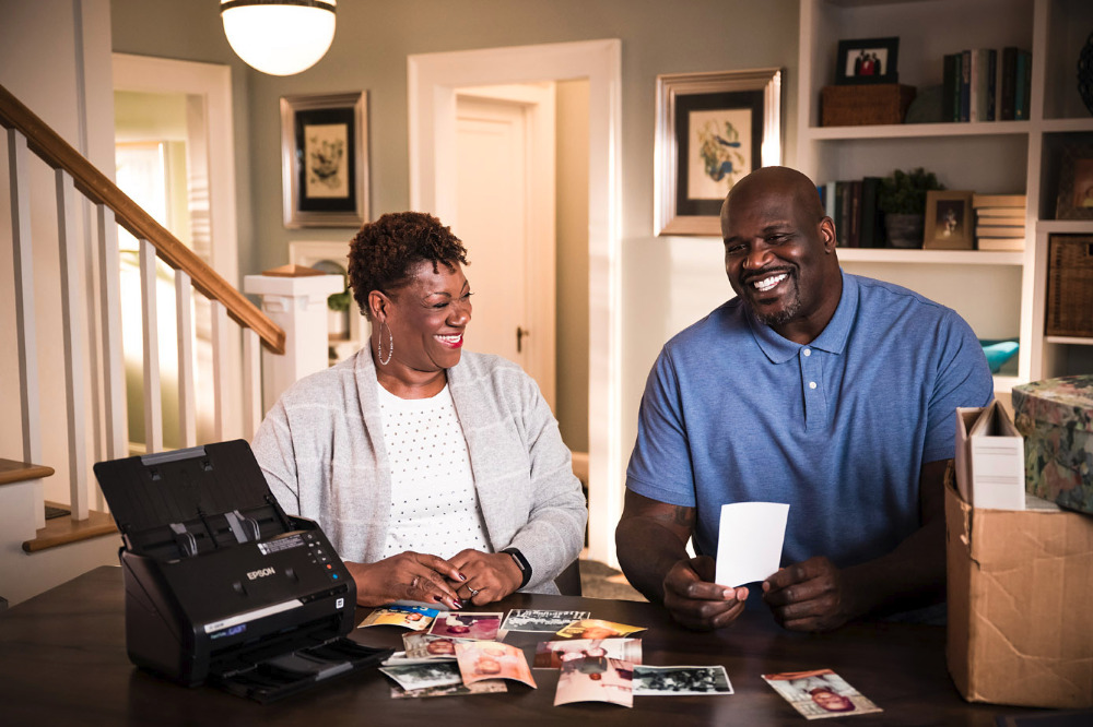 Shaquille and mother Lucille O'Neal