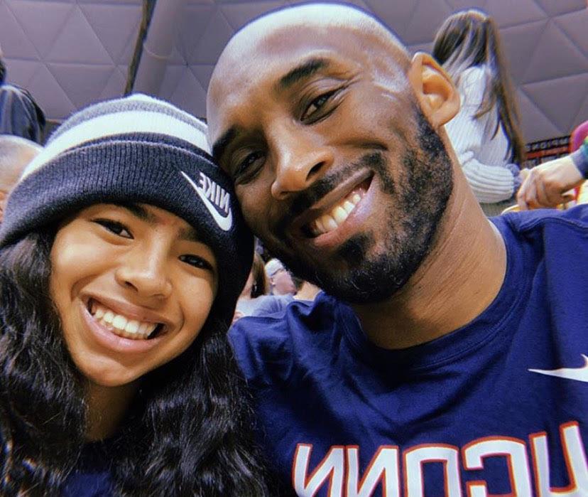 Kobe Bryant and Gigi