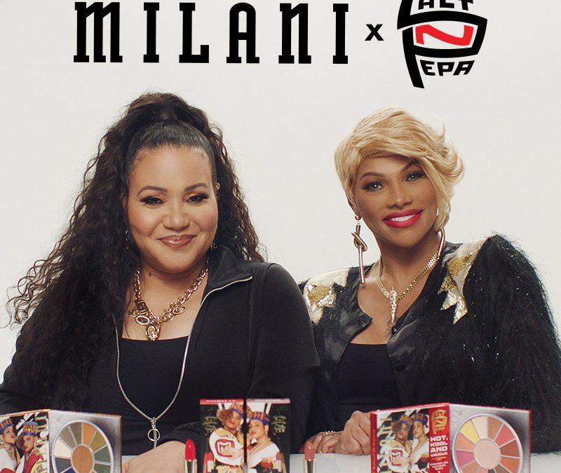 Milani Cosmetics Debuts the Salt-N-Pepa Collection