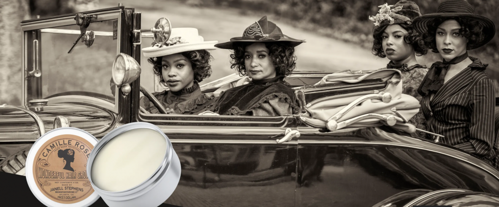 Camille Rose Pays Homage To Madam C J Walker By Recreating Her First Ever Product