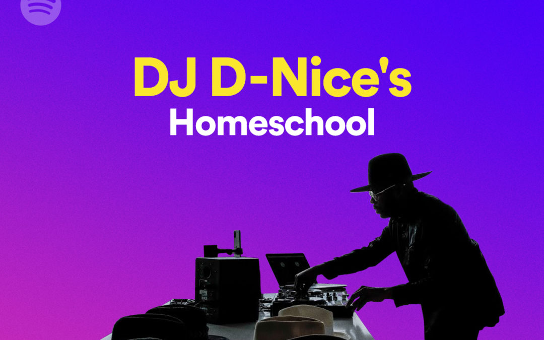 DJ D-Nice Partnered with Spotify to Curate a Homeschool Playlist