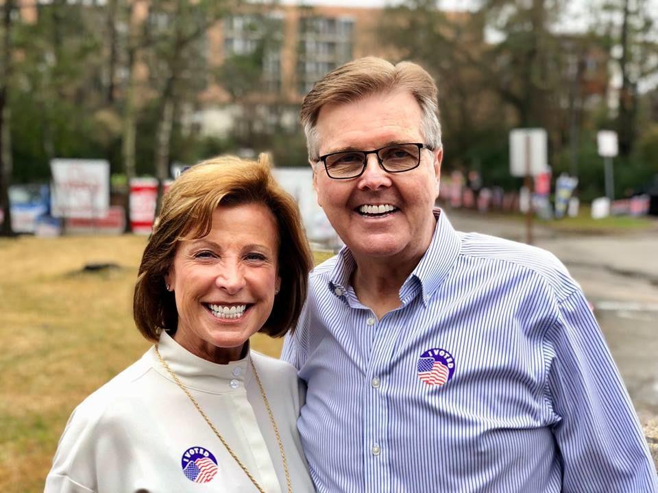 Dan Patrick and wife Janetlea. Courtesy of Danpatrick.org