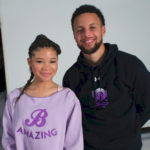 Stephen Curry and Actress Storm Reid