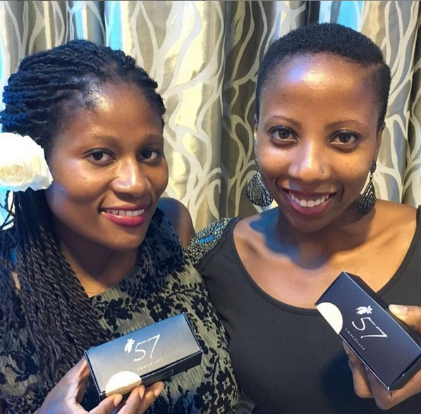 Kimberly and Priscilla Addison, founders of 57 Chocolate