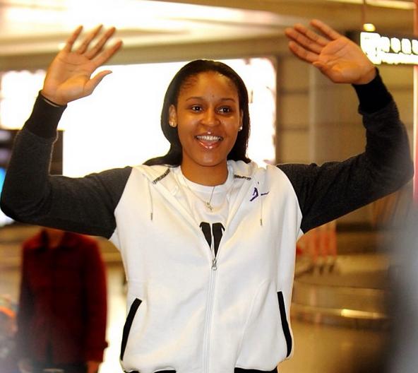 WNBA Star Maya Moore