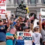 anti-quarantine protest