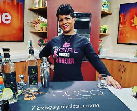 Nayana Ferguson, co-founder of Teed Tequila