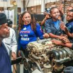 Sandra Aguebor mechanic Nigeria
