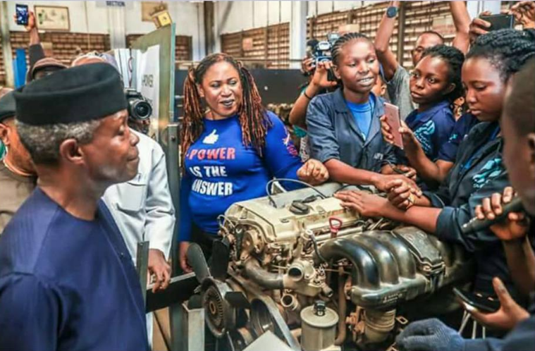 This Female Mechanic In Nigeria Is Teaching African Women How To Fix Their Cars