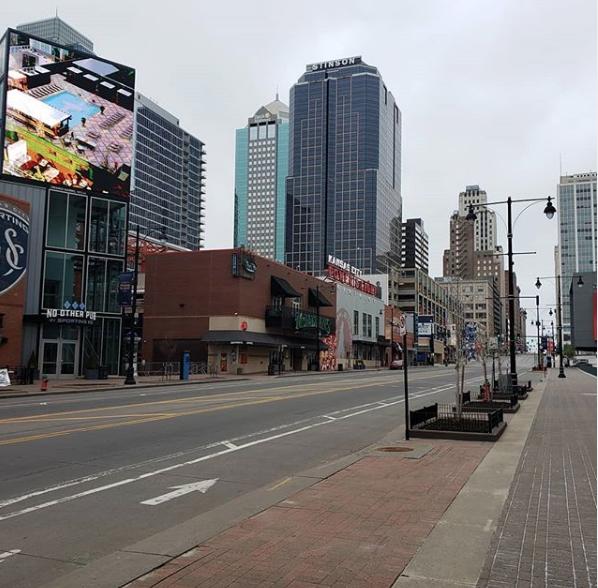 Kansas City under quarantine