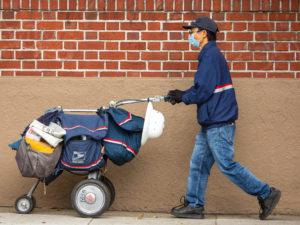 US postal worker hazard pay