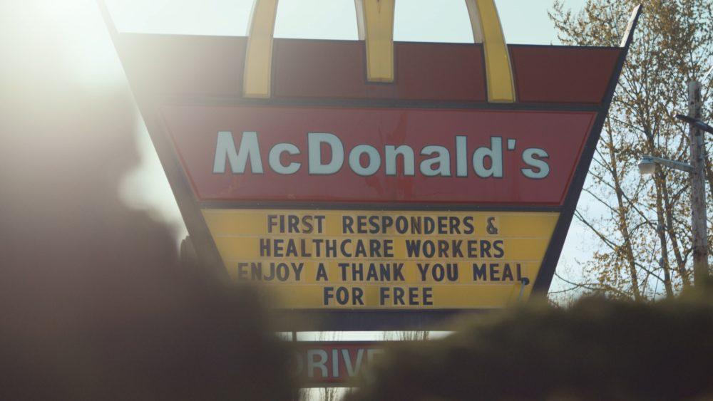 McDonald's meals healthcare workers