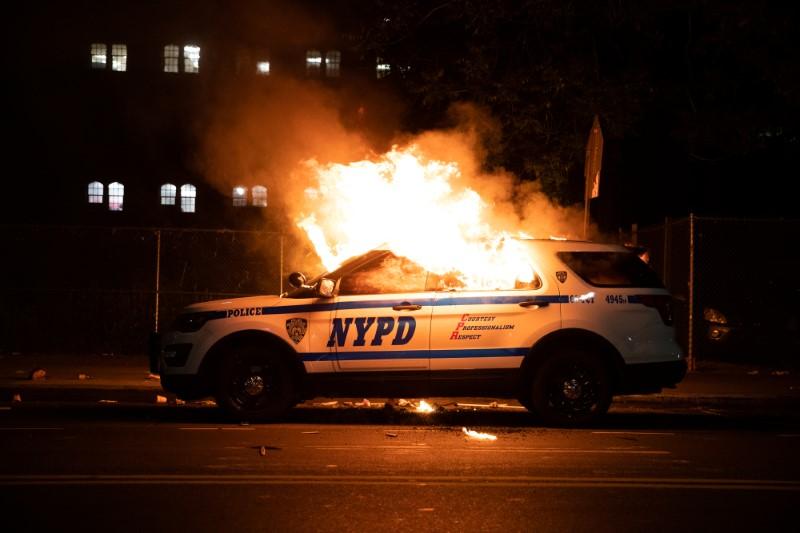 america violence nypd