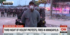 Black CNN reporter arrested
