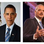 Barack Obama and Eric Holder