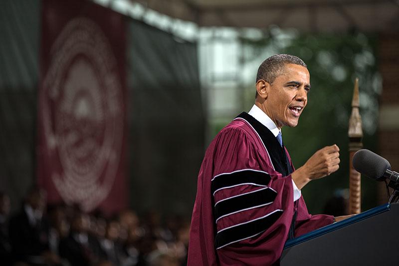 Barack Obama Commencement