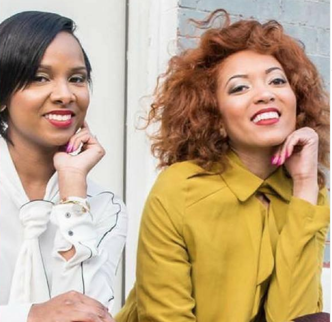 Dr. Tammira Lucas and Jasmine Simms, founders of Moms As Entrepreneurs