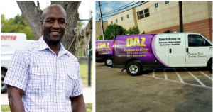 Dajadt Azakytu, founder of DAZ Plumbing & Locating