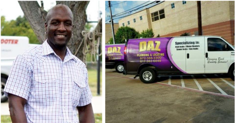 Dajadt Azakytu, founder of DAZ Plumbing & Locating