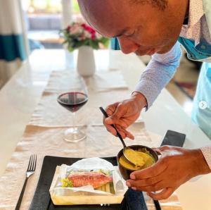 Chef Marcel Ravin