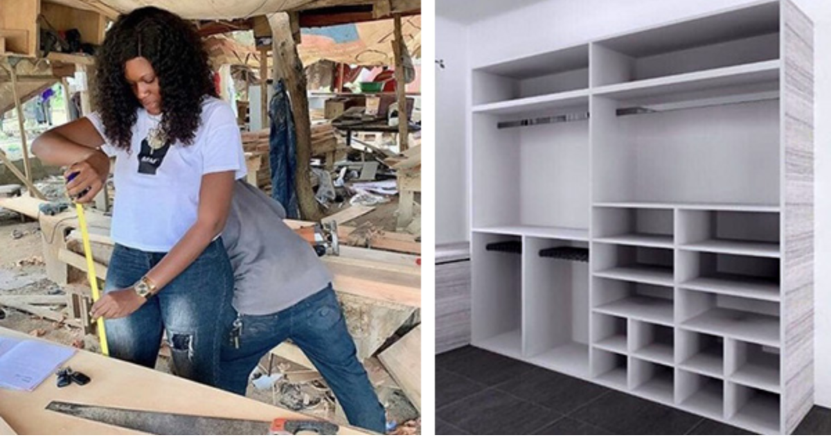 Meet The Woman Defying Gender Roles With Her Furniture Business