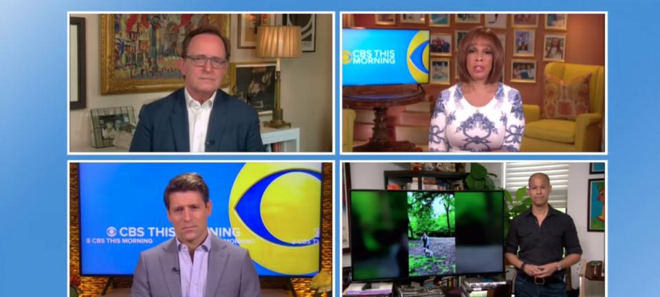 Screenshot of CBS This Morning / Gayle King