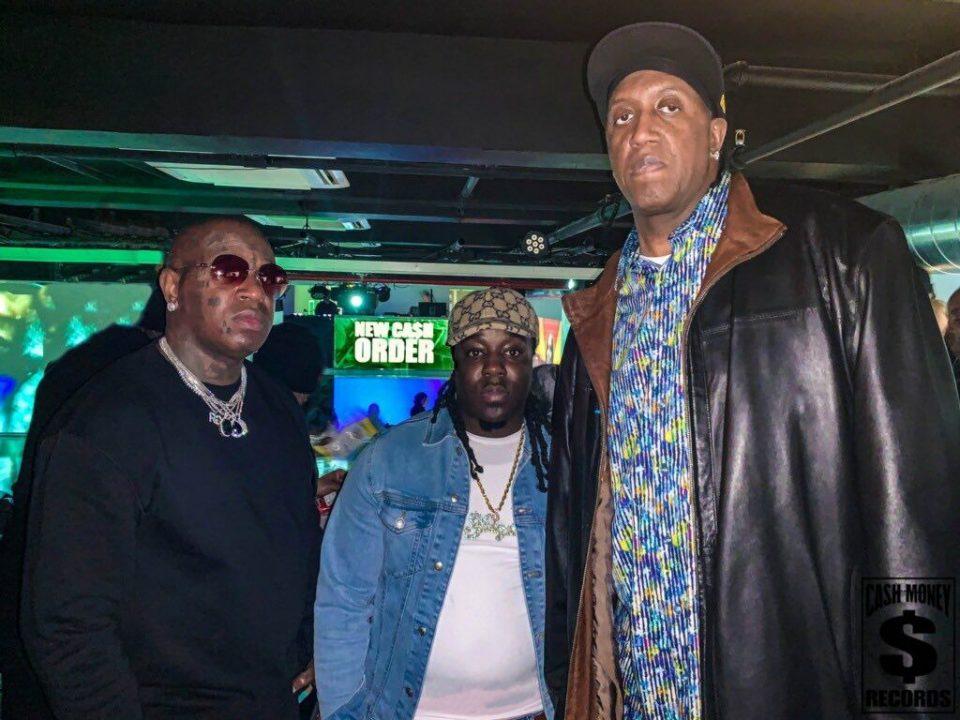Birdman and Slim of Cash Money Records