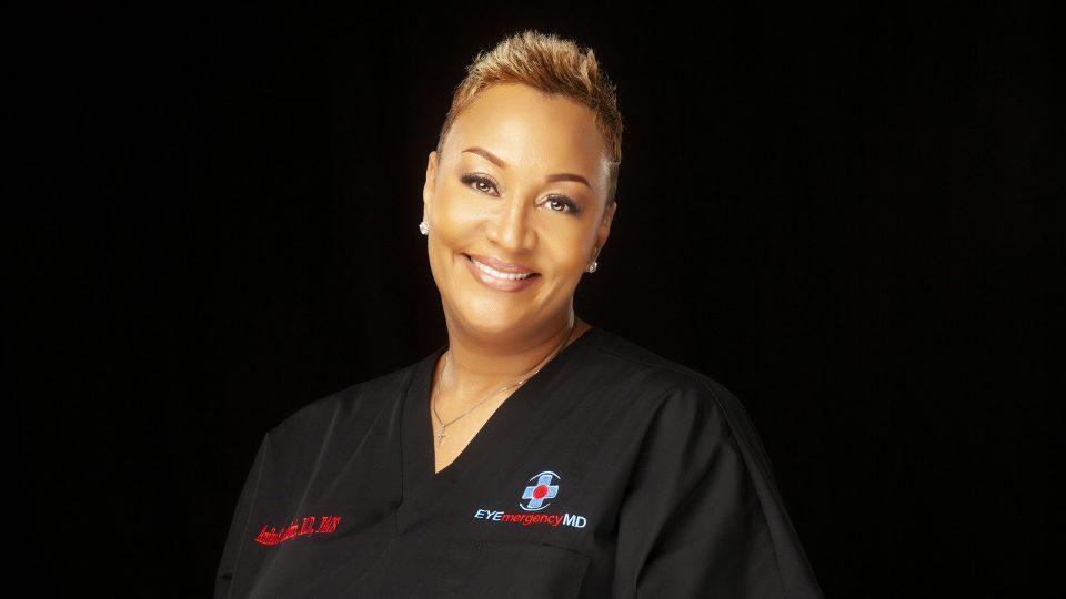 Dr. Anika Goodwin OpulenceMD Beauty lashes