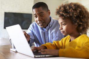 parents broadband internet